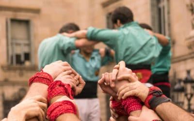 Castellers: mensen torens in Catalonië