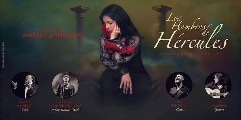 María La Serrana presenteert: 'Hombros de Hércules'