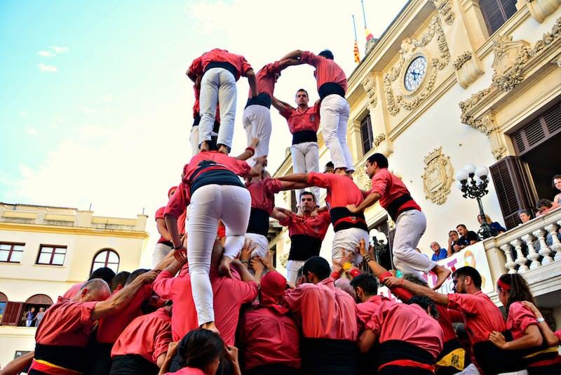 Castellers Pinya