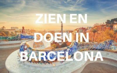 10 x zien en doen in Barcelona