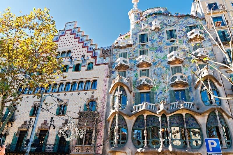 Casa Batlló - Gaudi's werk