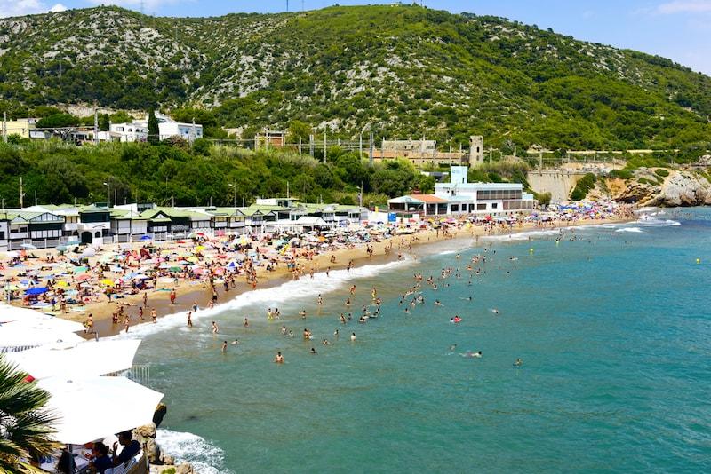 costa de Garraf een kust in Spanje