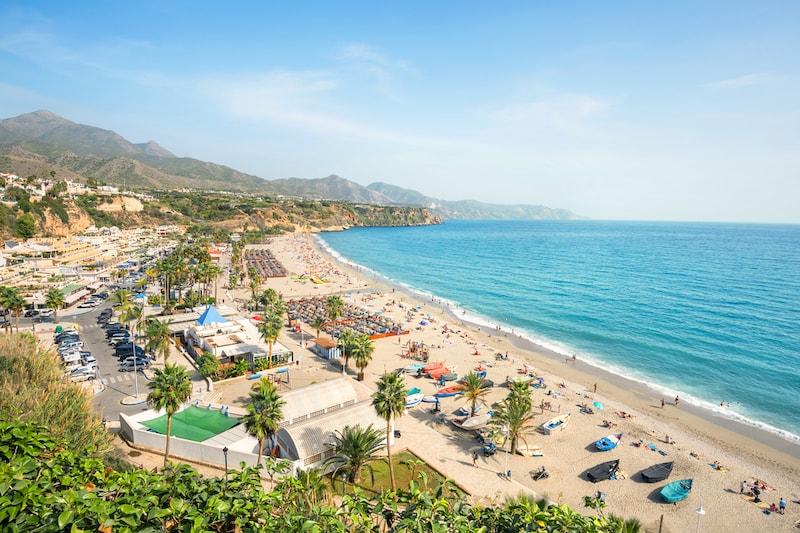 Costa del Sol kust in spanje