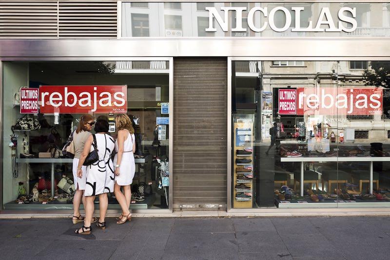 Uitverkoop in Spanje: Viva las rebajas