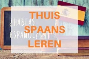 thuis Spaans leren