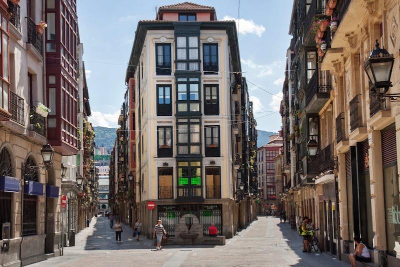 Straten van Bilbao