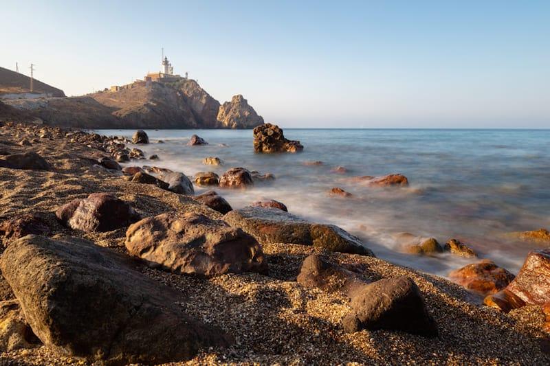 voortoren in natuurpark Cabo de Gata in Spanje
