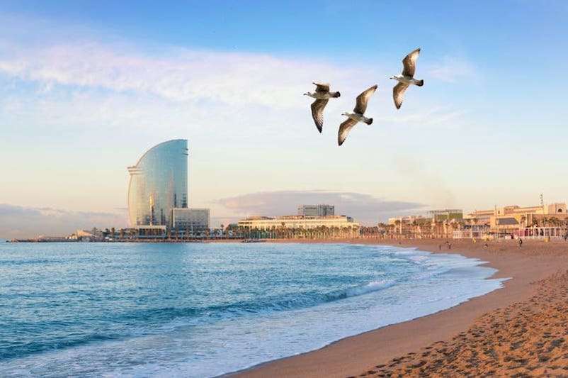 kust van Barcelona