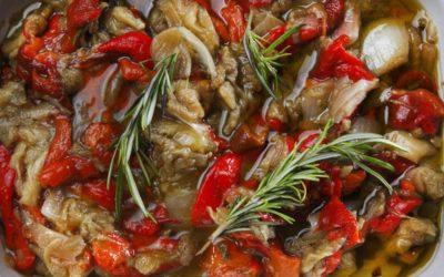 Spaans recept: escalivada (gegrilde groente)