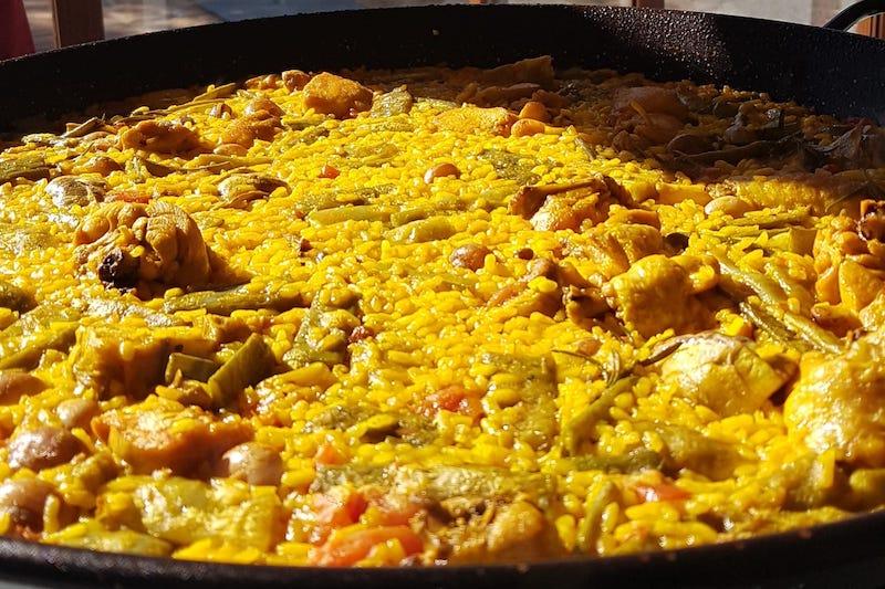 Spaans recept: paella