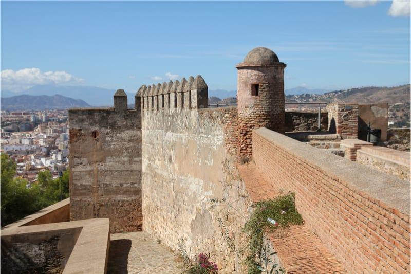 Castillo-de-Gibralfaro-Málaga