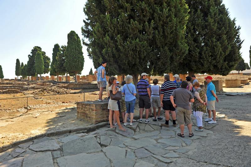 conjunto arqueológico italica