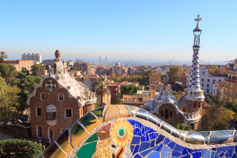 Stijl Van Gaudi.De Onsterfelijkheid Van El Genio Antoni Gaudi Espanje