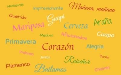 Dit vinden jullie de mooiste Spaanse woorden