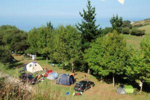 camping itxaspe baskenland
