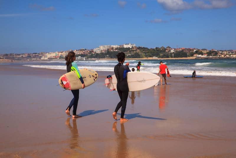surf Cantabrië