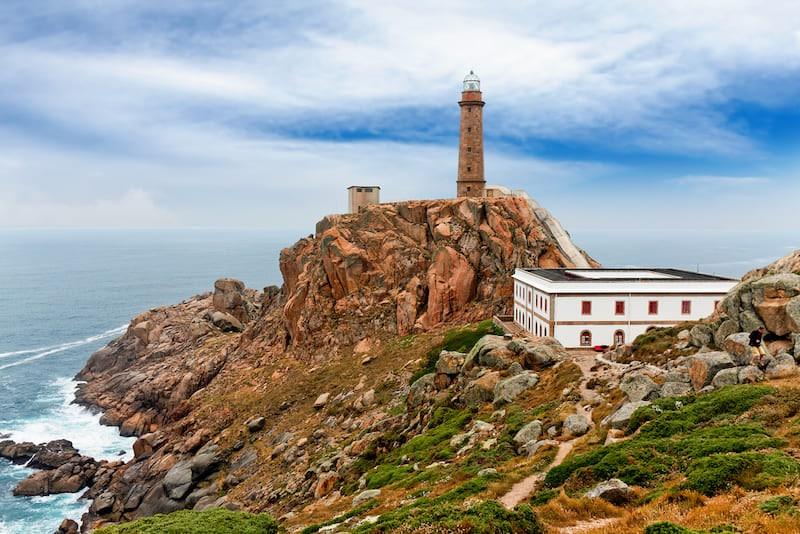 Cabo Vilan Galicië