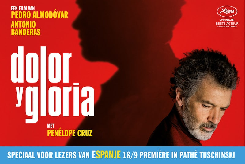 Feestelijke première Dolor y Gloria (en win 2 vliegtickets naar Spanje!)