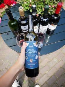 rode wijn acantus