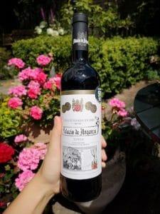 rode wijn palacio de arganza