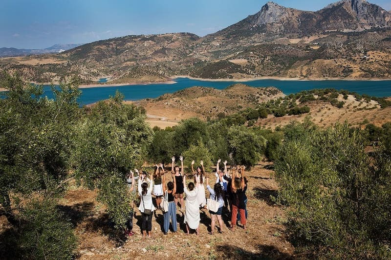 Fijne yoga retreats in Spanje