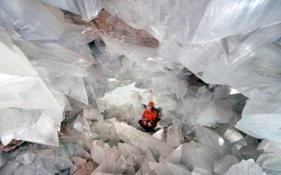 Deze gigantische kristallen grot kan direct op de bucketlist