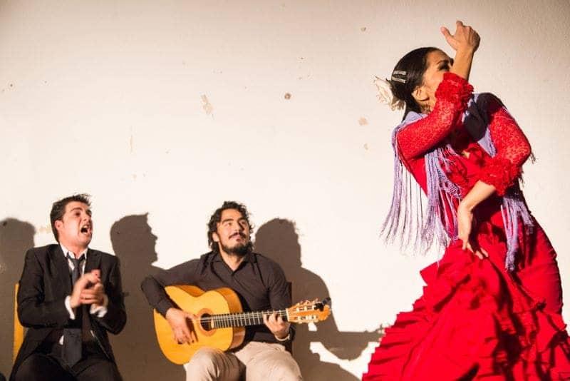 Flamenco act