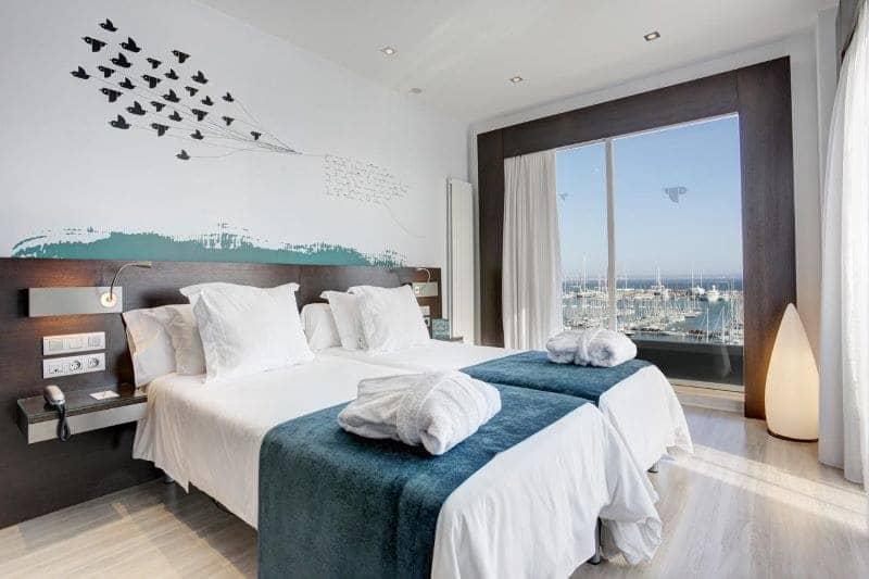 hotelkamer uitzicht