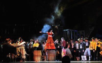 Opera Carmen trekt door Nederland
