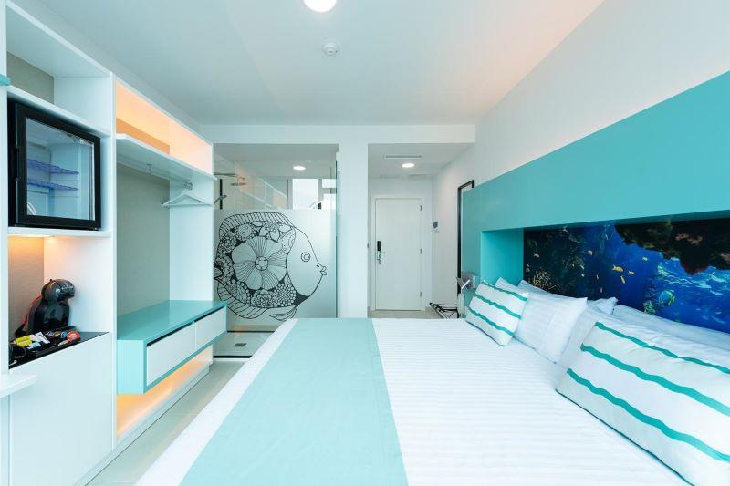 hotelkamer-oceanstyle-cordial-vista-acuario