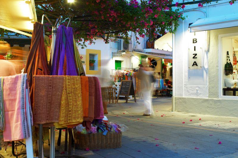 Straatjes in Ibiza