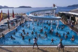 camping-bayona-playa-zwembad-glijbaan