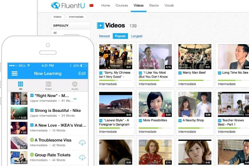 taal-app-fluentu-videos