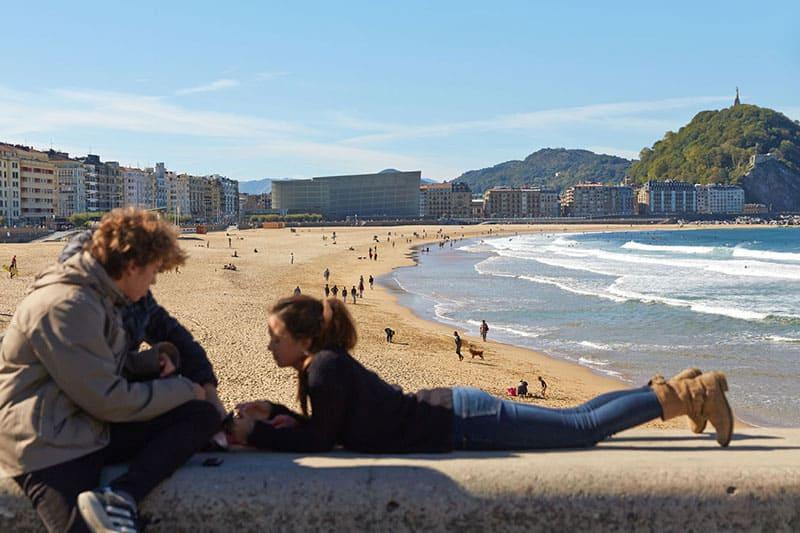 studeren-san-sebastian-strand