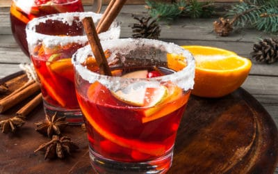 Recept: wintersangria