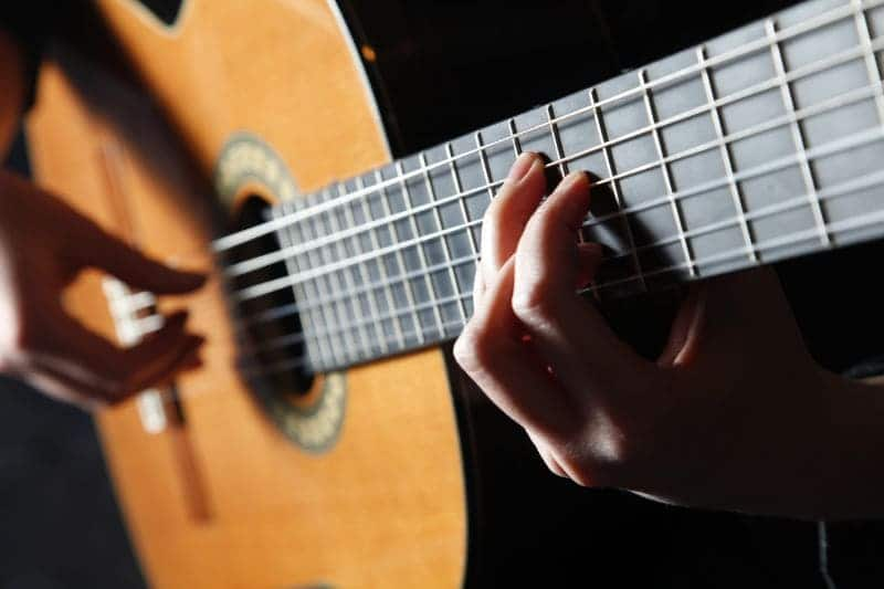 Spelen op de Flamenco gitaar