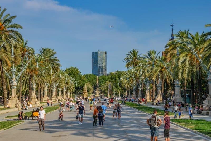 Omgeving Marathon Barcelona