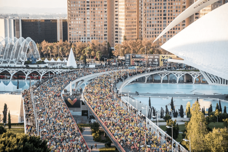 Marathon in Valencia