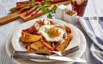 Spaans recept: huevos rotos