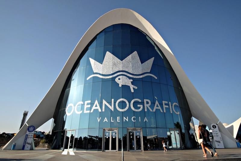 Aquarium in Valencia
