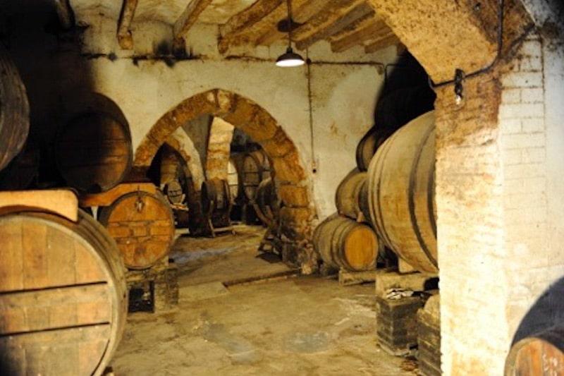 Wijnkelder in Spanje