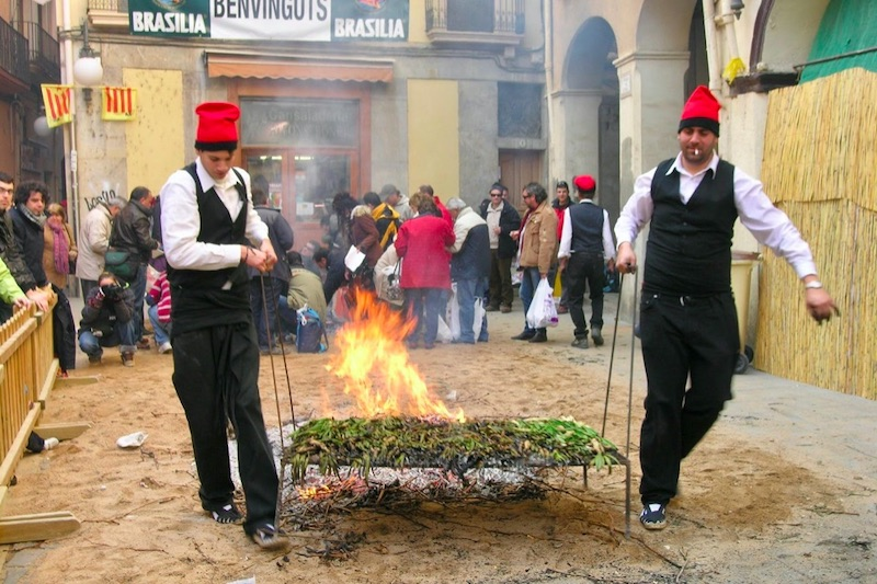 Traditionele feestdag in Catalonië