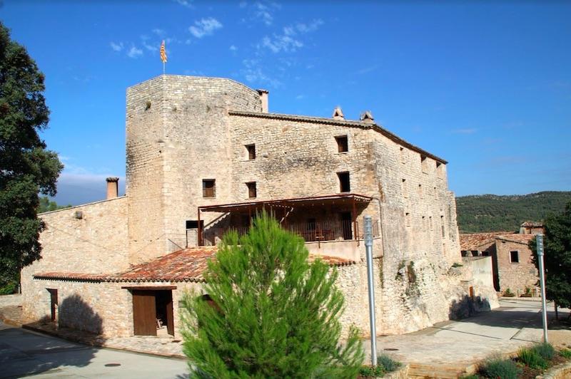 Een oud stenen huis in Spanje