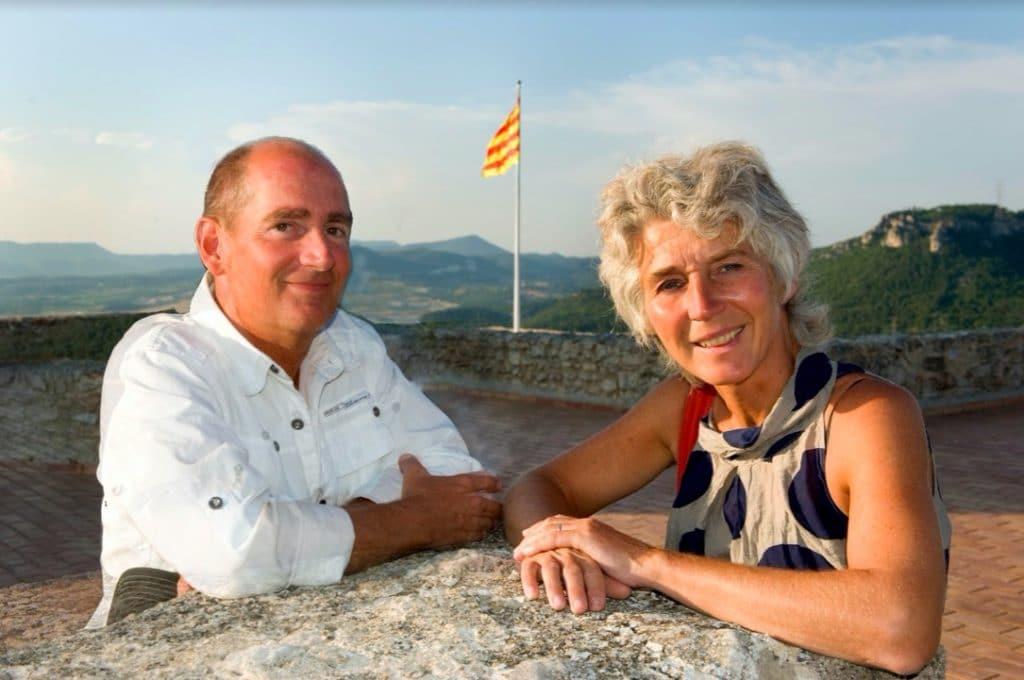Man en vrouw in Spanje