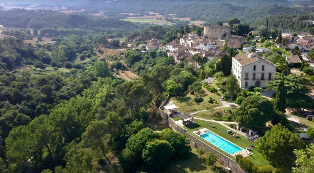 Een uitzicht in Spanje