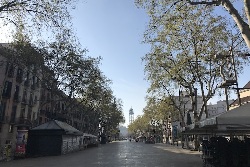 Lockdown Spanje: Nederlanders doen verslag