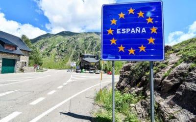 grensovergang frankrijk en spanje