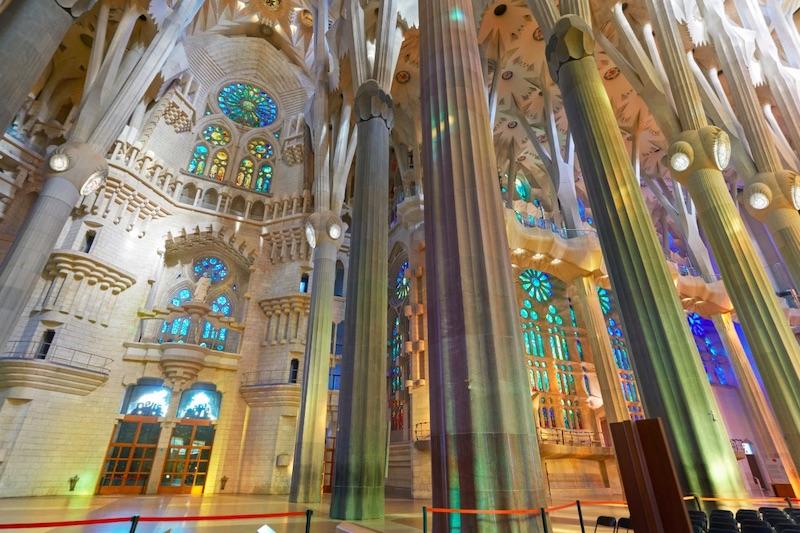 Virtueel bezoek Sagrada Familia
