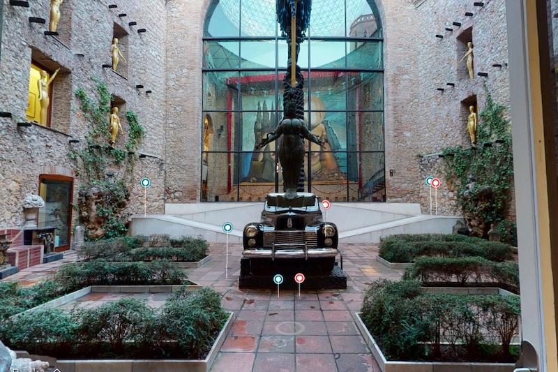 Dali museum virtueel bezoek
