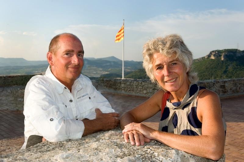 eigenaren vakantie resort in spanje Geert en Jaqueline